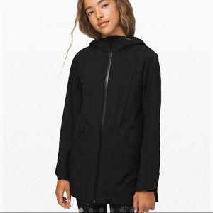 Lululemon - Happy Rain Jacket, Girls size 12 NWT